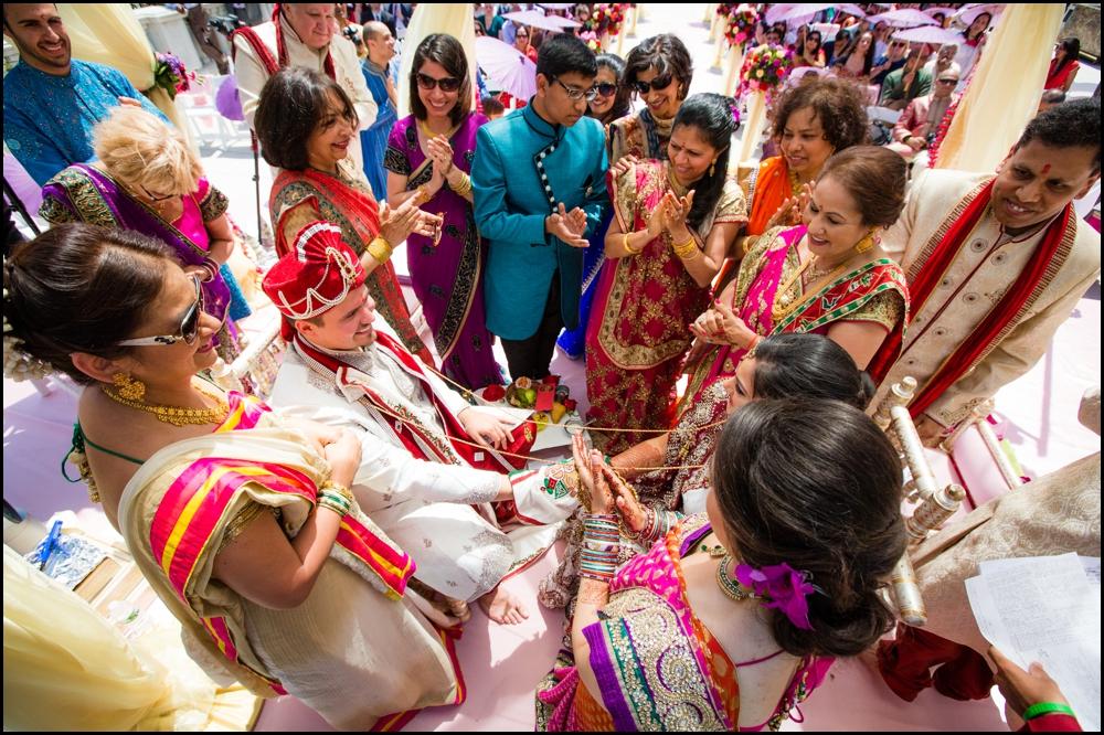 Bappa and chandni wedding